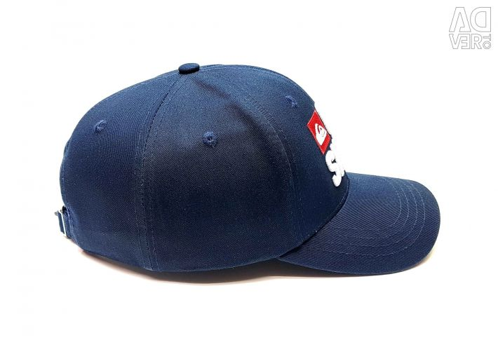 Quiksilver flash baseball cap (t blue)