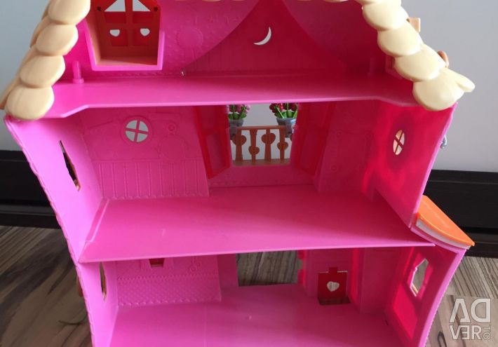 Playhouse for dolls