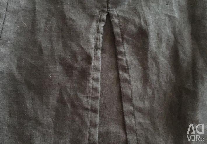 Cămașă rochie de toaletă .r.52-54, negru