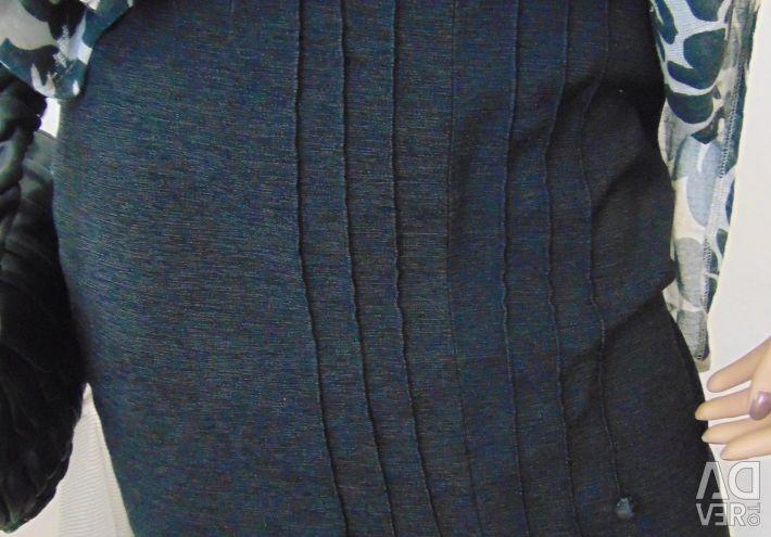 Γκρι φούστα κοστούμι