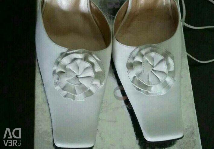 Sandals white / new