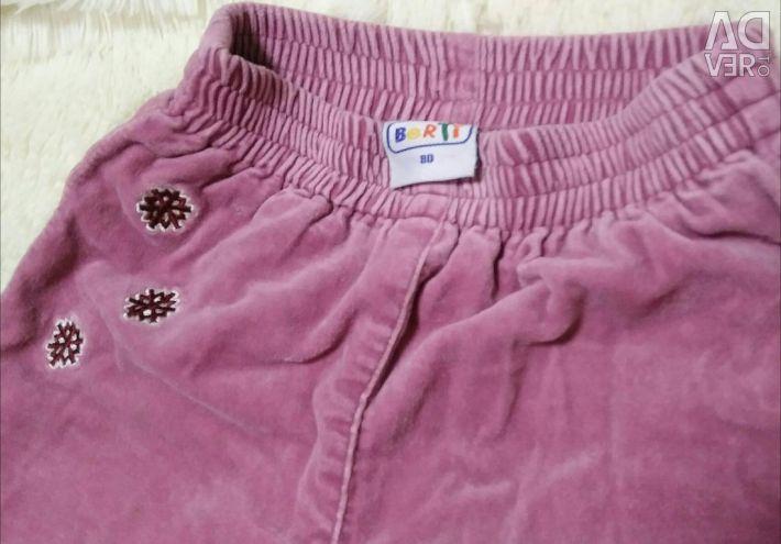 Παντελόνια, μπουφάν, ανά κορίτσι 9-24 μ