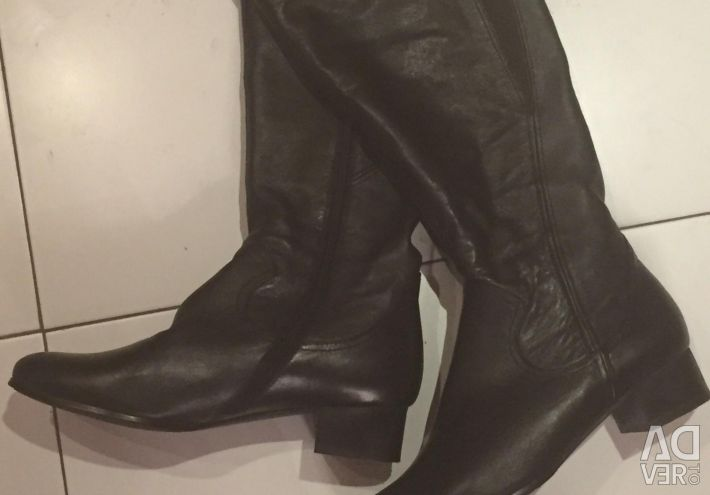 Leather Boots size 40
