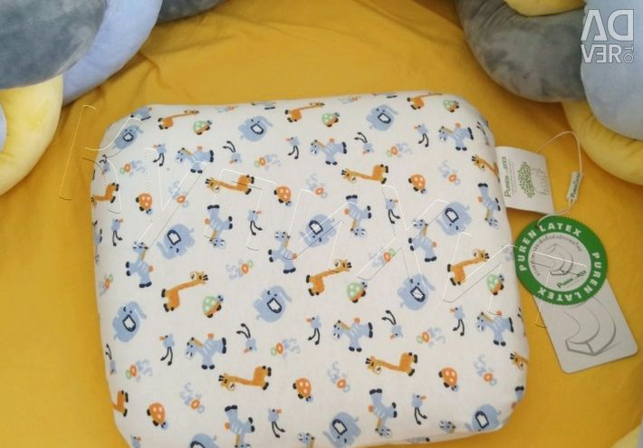 🔥 Baby Ortho Pillow 100% Latex New
