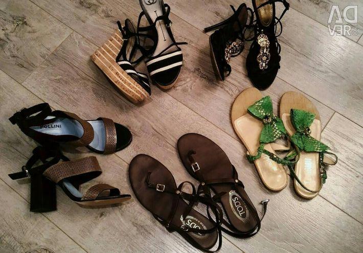 Pantofi marcați pentru vară