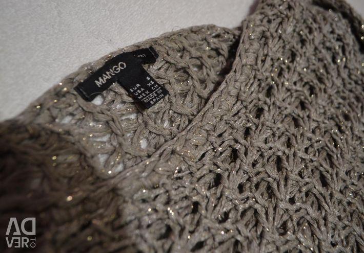MANGO jumper with metallized thread