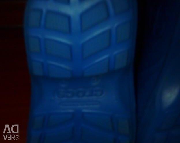 Boots, crocs