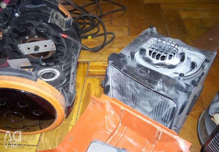 Elektrikli süpürge kırmızı onarım parçaları