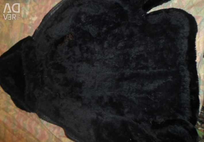 Koyun derisi ceket ve kürk takımı