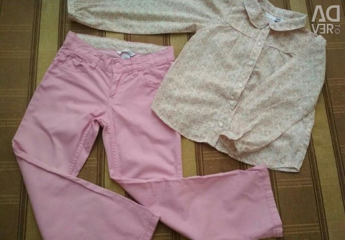 Suit for a girl 6-7 years old