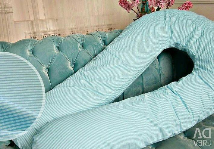 Великі і м'які подушки для вагітних в наявності