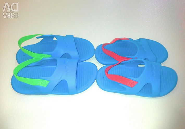 Slippers for the pool