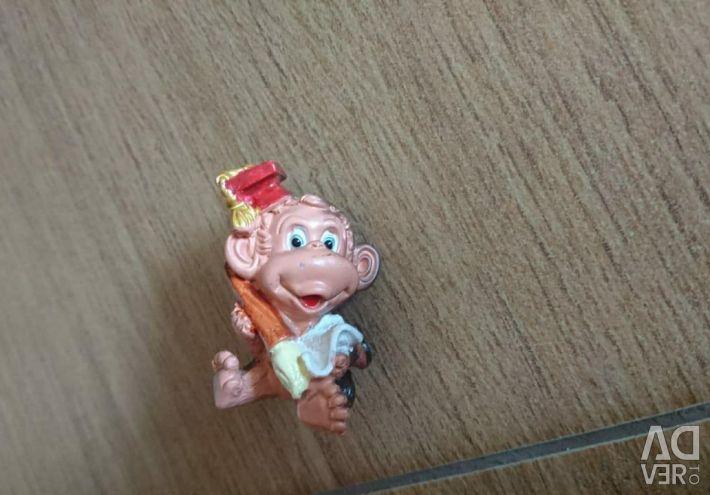 Αναμνηστικό πηλό μαϊμού