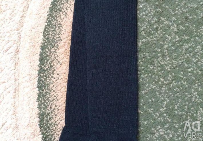 Leg warmers for gymnastics