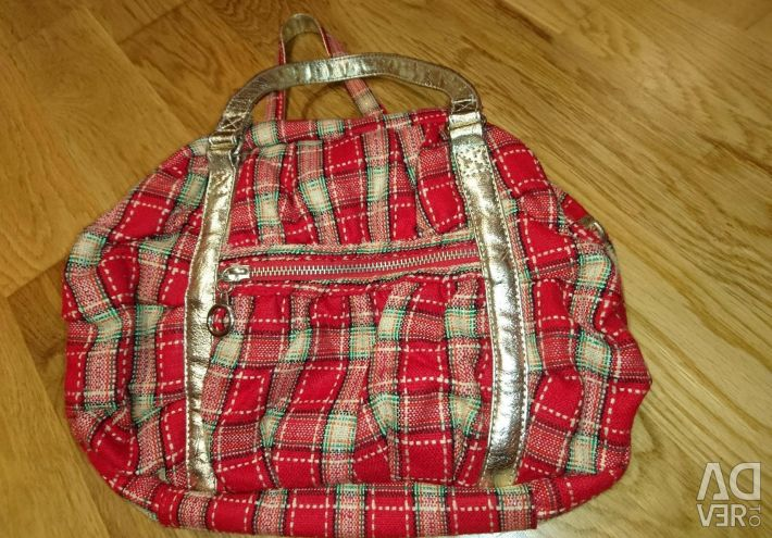 Women's bag in a cage