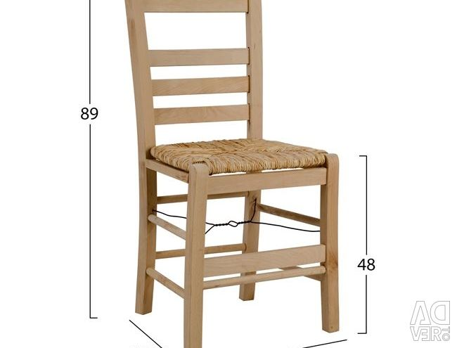 TRADITIONAL COFFEE CHAIR RINO2 WITH GLASS
