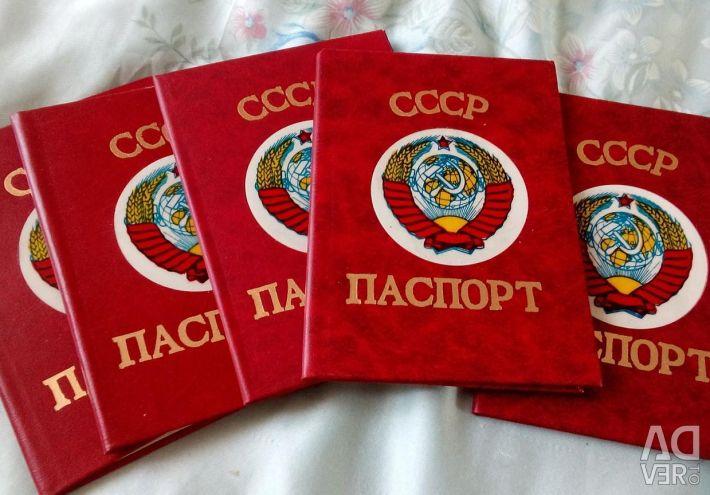 Acoperire pentru pașaport