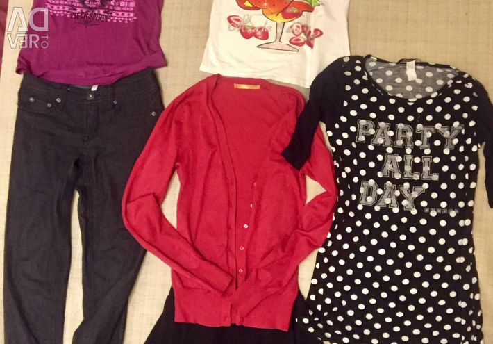Things pack, size Xs-S