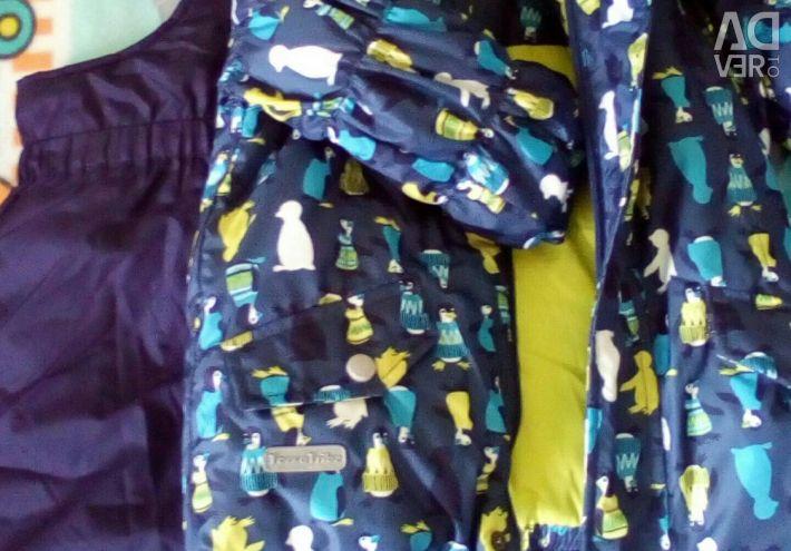 Νέο χειμερινό κοστούμι για αγόρια 1-1,6 ετών