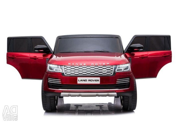 Children's electric car Range Rover HSE 4WD Cherry