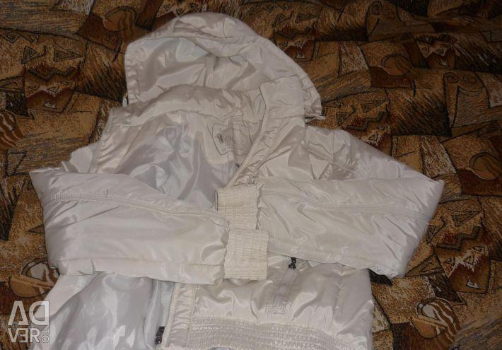 Куртка белоснежная р 42