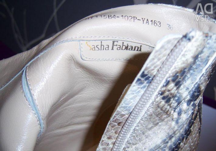 YENİ yarım bot Sasha Fabiani, sayfa 36 (kobra deri)