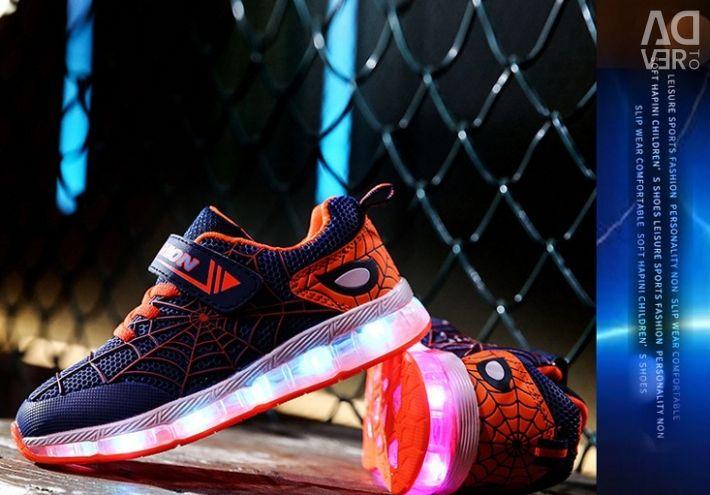 Luminous sneakers