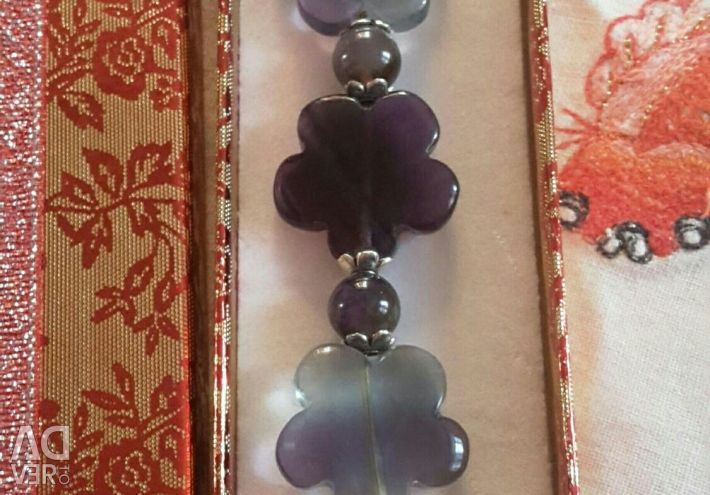Genuine Fluorite Bracelet.
