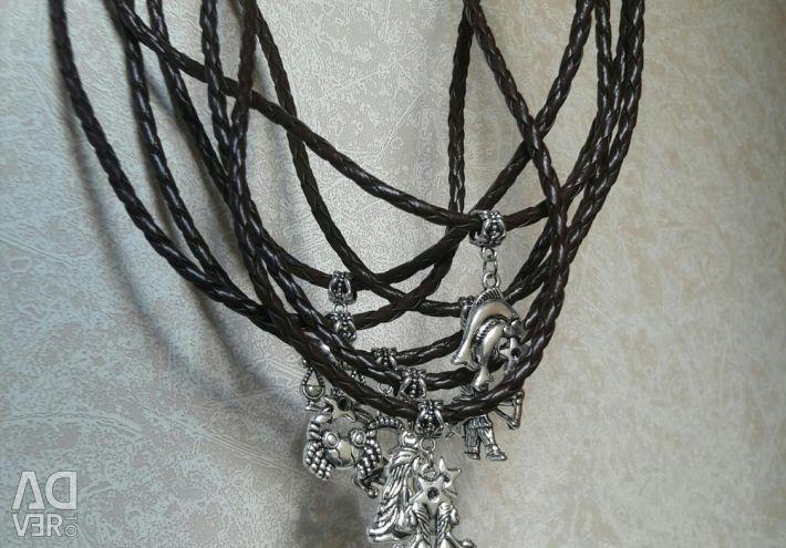 Male bracelet-pendant