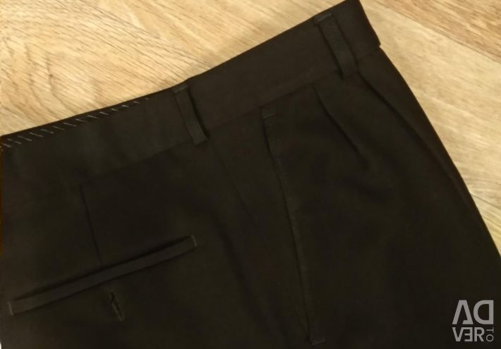 Warm trousers (wool), r. 46-48