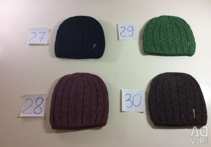 Stylish youth knitted hats