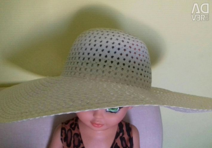 H Pălărie răchită cu margini mari