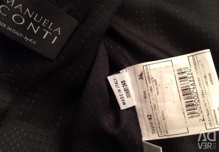 İtalya 100% yün ceket