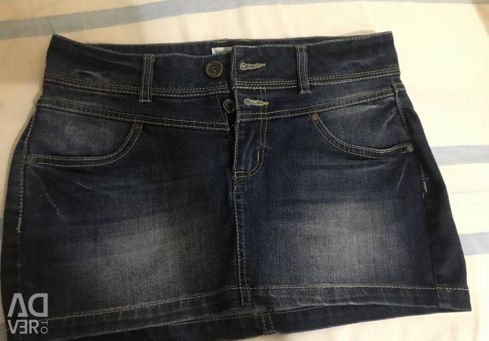 Mini Denim skirt new