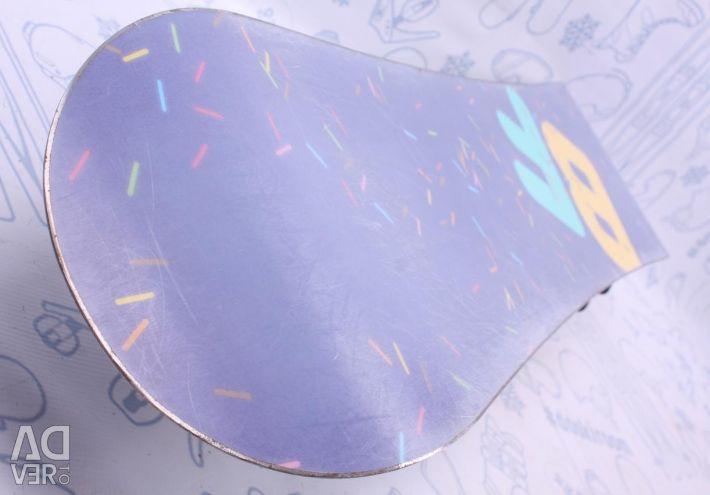 Snowboard BF 120 cm + bindings + boots