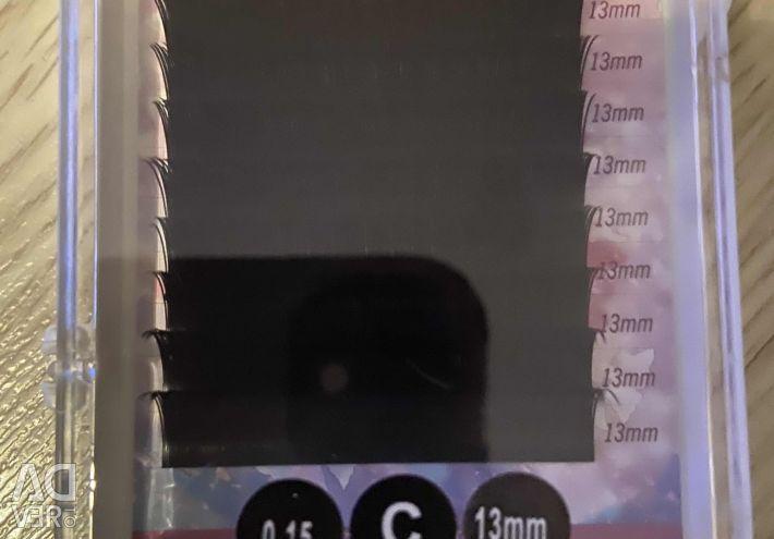Eyelash Extensions C 13 mm 0.15