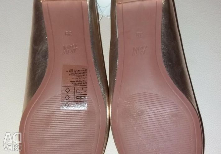Yeni ayakkabılar H & M 39
