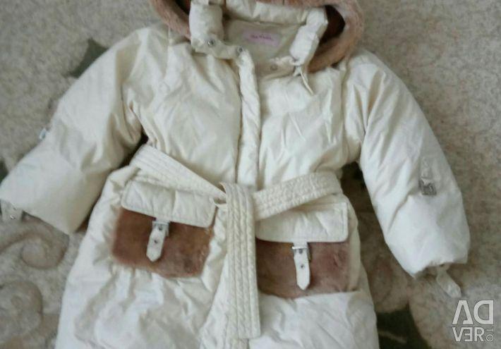 Aviva down jacket