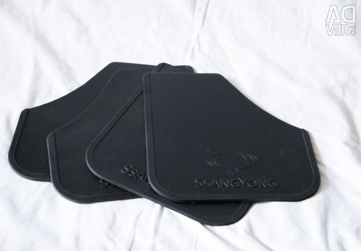 Mudguards universal Norplast for Ssang Yong