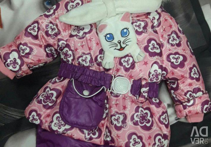 Νέο κοστούμι για ένα κορίτσι