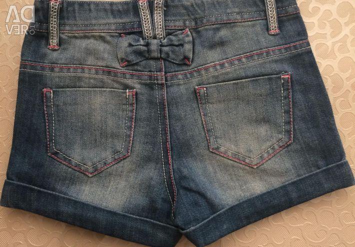 Pantaloni scurți din denim noi