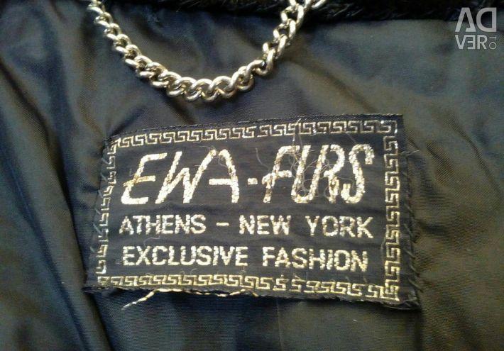 Fur coat, mink