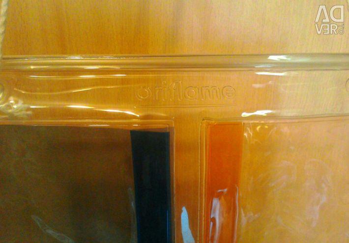 Hinged shelf for storage Oriflame