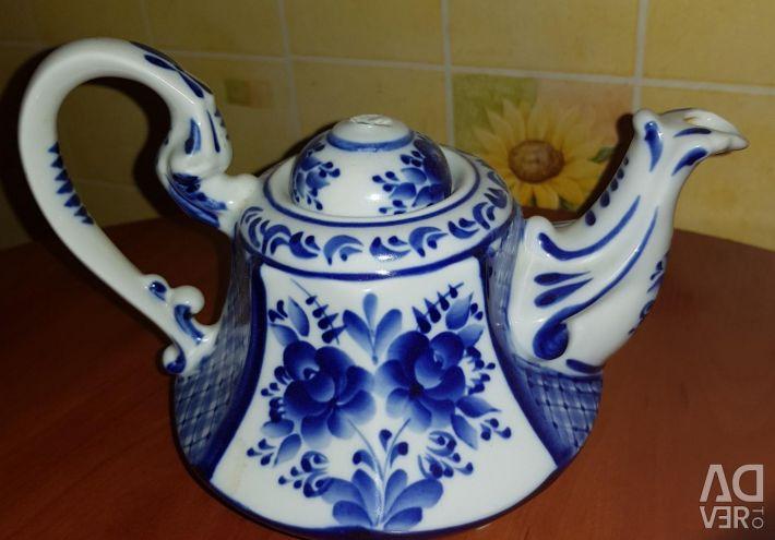 Teapot 0.5 gzhel.