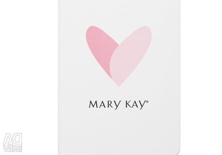 Pink heart notepad