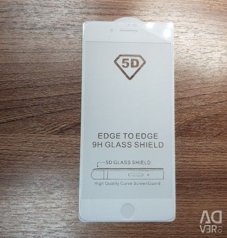 Protective glass 5D on Iphone 7 Plus / 8 Plus
