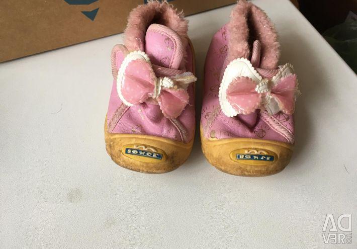 Ботинки очень маленькие! На первые шаги и до них