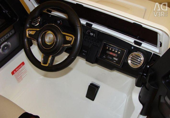Children's electric car Jeep Wrangler 4x4 O999OO