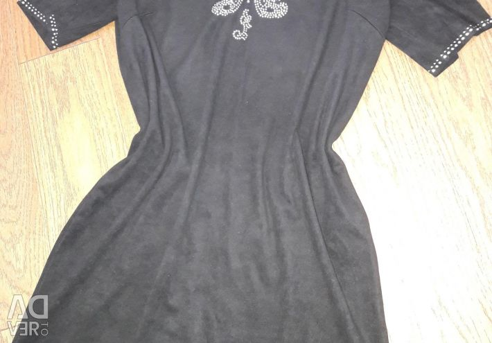 Платье/туника. новое /чeрное. размер 44