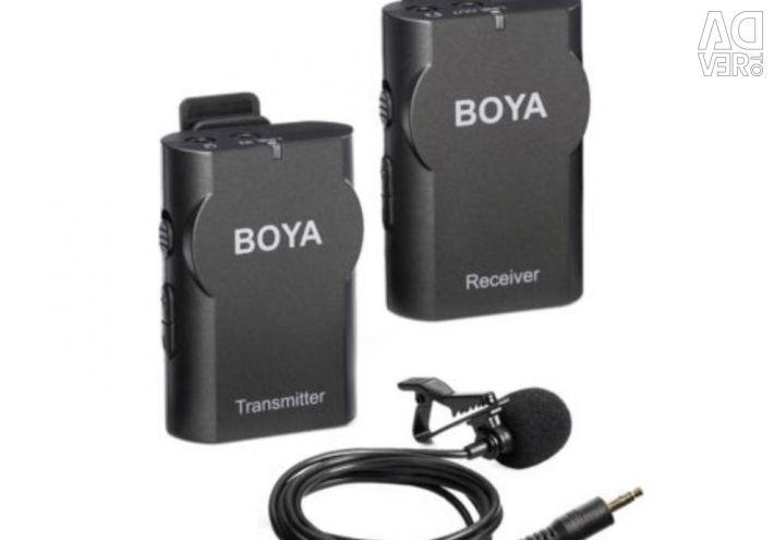 Ασύρματο μικρόφωνο με πτέρυγα BOYA BY-WM4